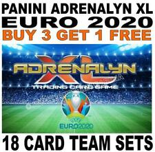 Panini Adrenalyn XL EURO 2020 - 18 CARD TEAM SETS/ HOST CITIES/ MOMENTS ETC