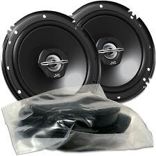 Car Fit 16cm Koax Lautsprecher Paar für Audi A4 Tür h. JVC CS-J 620X