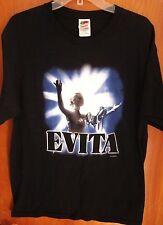 EVITA PERON lrg Broadway T shirt musical Seduced A Nation tee Webber Argentina