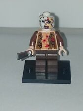 LEGO JASON VOORHEES WITH BULLET HOLES IN CHEST AND TWO FACE