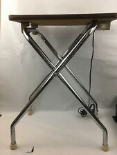 Vintage Film Projector Table & Power Panel Logan Show King Mid Century