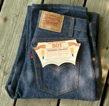Vtg 1987 Levi's 701 XX Student 501 Button Fly Blank Red Tab Jeans 29 x 36