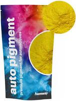 Hemway Automotive Powder Pigment Metallic Mustard Yellow Pearl Auto Paint 50g