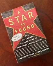 A Star Is Found: Signed By Both Authors Hirshenson & Jenkins HC/DJ