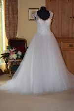 Maggie Sottero Lace Cap Sleeve Wedding Dresses