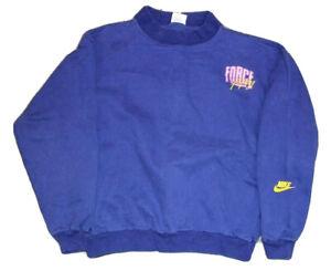 Vintage 90s Nike Force Crewneck Sweatshit Size Youth Large 14-16 Robinson