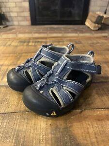 Toddler Keen Sandals Size 7 Blue Gray