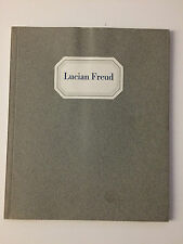 LUCIAN FREUD, exhibition catalogue, Anthony D'Offay gallery, 1978