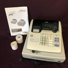 CASIO PCR-T275 CASH REGISTER - Electronic; Thermal Print; Keys; Fully Tested