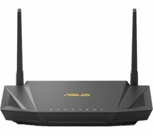 ASUS RT-AX56U AX1800 Dual-Band Wi-Fi 6 Gaming Router - Black