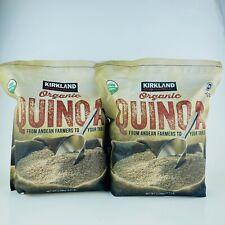 2 Packs Kirkland Signature Organic Quinoa 4.5 LB Each Big Bags!