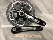 FSA Gossamer BB30 Crankset Triple 75mm Road Bike In Nice Condition