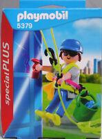Playmobil Special Plus 5379 Gebäudereiniger Fensterputzer Fasaden-Reiniger NEU