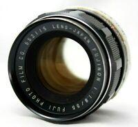 Fuji Fujinon 1:1.8 55mm Lens For M42 *As Is* #Mi015c