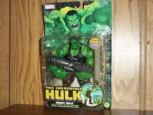 ToyBiz Incredible Hulk Classics Smart Hulk action figure MOC/MIP sealed 2004