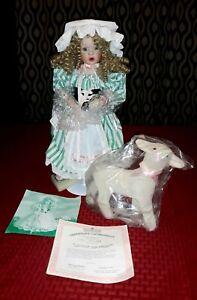 "Vintage Ashton Drake Porcelain Doll ""Little Bo Peep"" circa 1993"