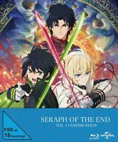 SERAPH OF THE END-VOLUME 1 LIMITED PREMIUM EDITION 2 BLU-RAY NEU