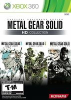 NEW Metal Gear Solid HD Collection (Microsoft Xbox 360, 2011)