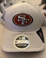 SUPER BOWL LIV 2020 Team Players Hat 49ers San Francisco New Era 9Forty Snap Cap