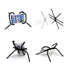 2pcs Nuevo diseño de araña Area Soporte para telefono movil universal - Negro