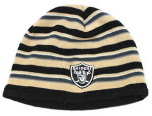Oakland Raiders Beanie Stocking Reebok Cap Hat Youth