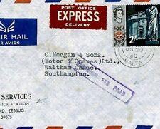 MALTA Air Mail Cover *Zebbug* VEHICLES Express Fee 1968 {samwells-covers} CS292