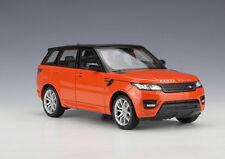 Welly 1 24 Range Rover Sport Diecast Model SUV Car Orange