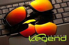 A50 Fuchsia/Gold Mirror POLARIZED Replacement Legend Lenses For Oakley HOLBROOK