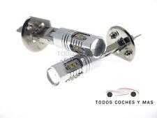 2 X BOMBILLAS LED COCHE H1 50W OSRAM 750LM ANTINIEBLA ALTA POTENCIA BLANCO