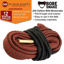 .243 calibre Bore Snake cleaner cord / 6mm Rifle barrel boresnake cleaner cord