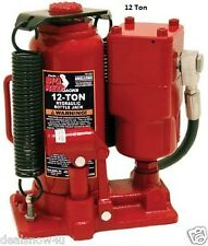 Hydraulic Air Jack 12 Ton Lift Tractor Truck Heavy Equipment Service Shop Repair