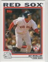 2004 Topps Baseball Boston Red Sox Team Set