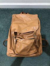 Vintage 70s Bergans Of Norway Leather Frame Backpack Rucksack Hiking Camping