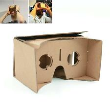 New DIY Google Cardboard Virtual Reality 3D Glasses for iPhone Samsung Phones ST