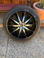 4 truck wheels and tires