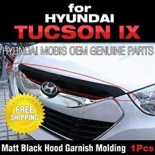 Mobis OEM Matt Black Hood Point Garnish Molding For HYUNDAI 2010-2015 Tucson ix