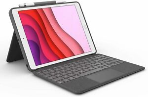 Logitech Combo Touch for iPad (7th & 8th Gen.) Tastatur Hülle Tasche