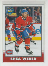 20/21 OPC Montreal Canadiens Shea Weber Retro Blank Back card