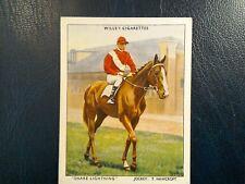 WILLS,     RACEHORSES. &. JOCKEYS 1938.   1. ODD CARD   No. 26.