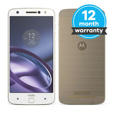 Motorola Moto Z - 32GB - Gold/White (Unlocked) Smartphone Pristine Condition (A)
