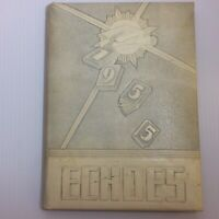 1955 ECHOES RIVERVIEW GARDENS Vintage School Yearbook Annual ST. LOUIS MO