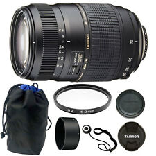 Tamron 70-300mm f4-5.6 Di LD Macro Autofocus Lens for Nikon + 62mm Accessory Kit