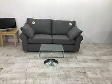Marks And Spencer Ramsden Large Sofa In Berro Plain,Charcoal Fabric RRP £1049