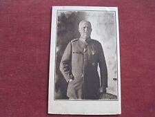 Ancienne carte, fotopostkarte avec Ludendorff