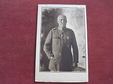alte Karte,Fotopostkarte mit Ludendorff