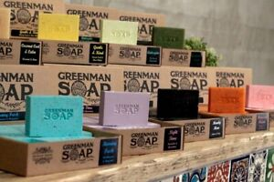 Greenman Soap, SLS and parabens free, handcrafted in England