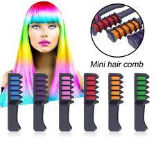 6PCS/SET Mini Disposable Salon Use Hair Dye Comb Crayons For Hair Color Chalk DR