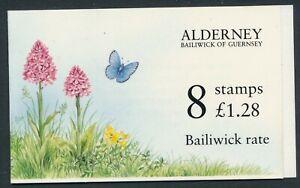 1994 ALDERNEY £1.28 BOOKLET FINE MINT MNH