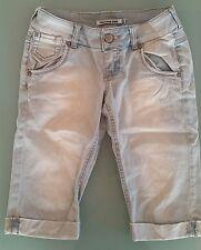 Jeans chiari donna al ginocchio taglia XS
