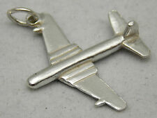 3D argento Sterling Charm AEREO COMET